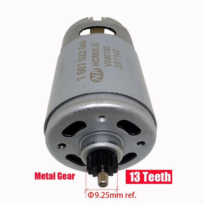 GSR14.4-2-LI ONPO 13 dentes Motor DC 1607022649 DC14.4V 3601JB7480 HC683LG para BOSCH furadeira elétrica manutenção de peças de reposição