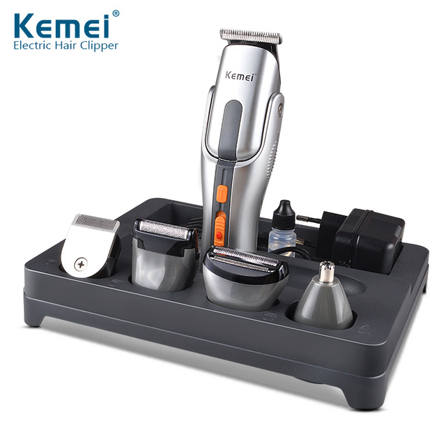 ФОТО Kemei680A 2016 Multifunction New Cutter Electric Hair Clipper Rechargeable Hair Trimmer Shaver Razor Cordless Adjustable Clip
