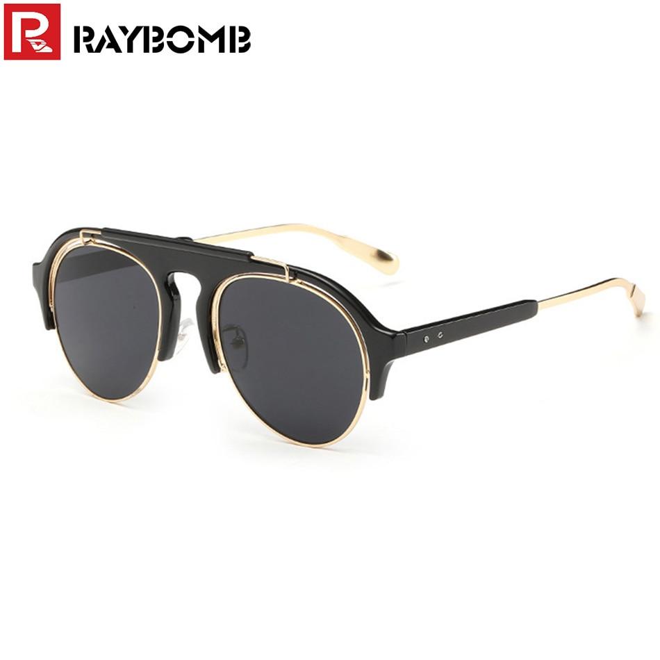 Glasses Frame Fashion 2016 : RAYBOMB vintage Brand Designer 2016 Sunglasses Women Men ...