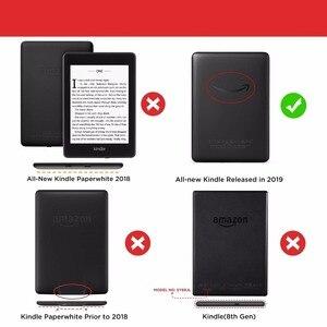 Image 2 - Funda inteligente de piel sintética más ligera para Kindle 2019, 10 °, J9G29R, 2019