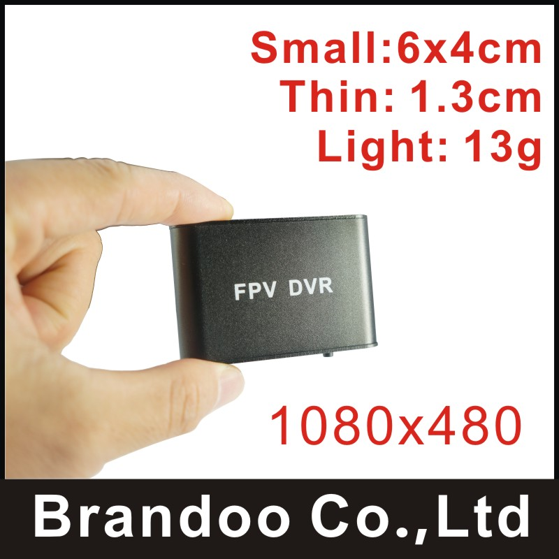2017, Smallest 1 channel 1080P FPV DVR, auto recording, 128GB micro SD, BD-300F from Brandoo