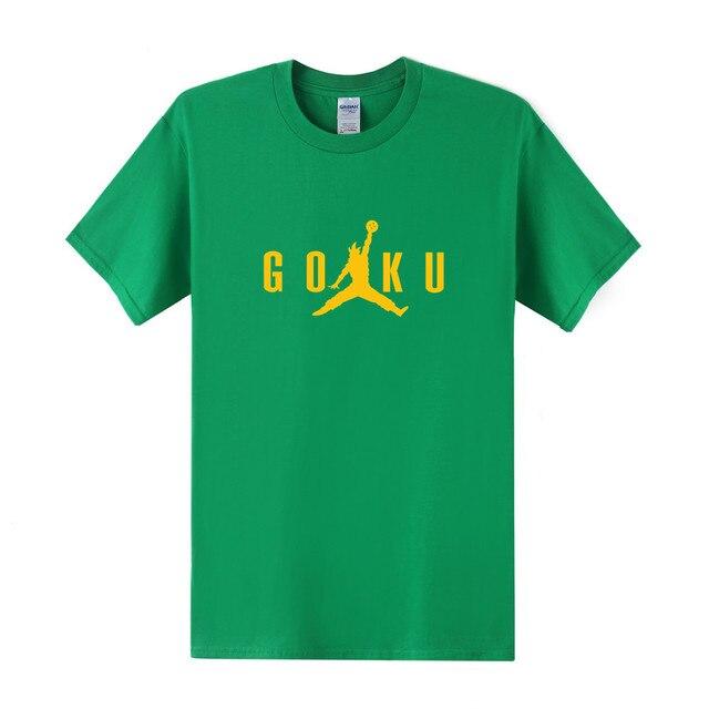 Dragon Ball Z Men Short Sleeve Cotton T-Shirt