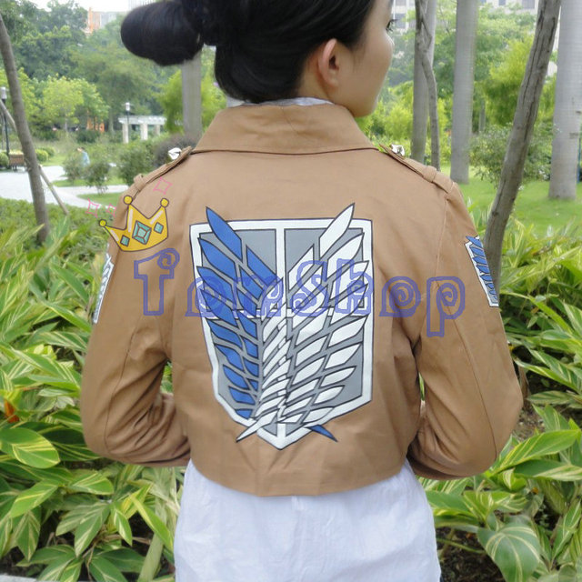 Attack on Titan Shingeki no Kyojin Scouting Legion Cosplay Unisex Coat