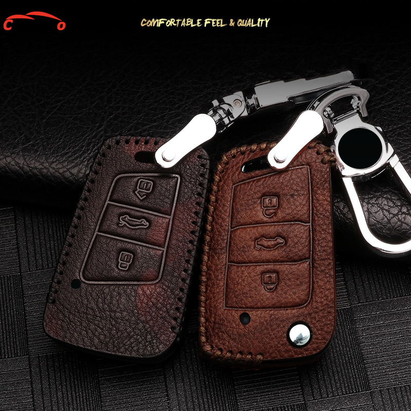 Car Accessories For vw Polo Passat Golf Tiguan Key Case For Car Key Ring Finder Holder Key Chain Car Key Cover Case Car Keychain polo car style protective plastic case for blackberry 8520 8530