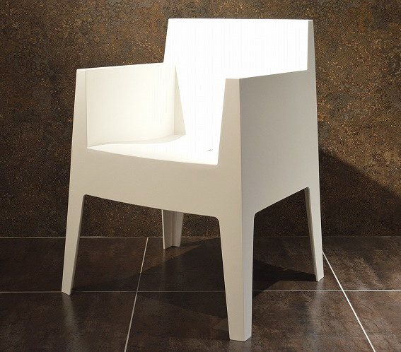 Sedie Di Plastica Impilabili.Design Moderno Loft Di Plastica Pp Uv Divano Per Esterni Sedia