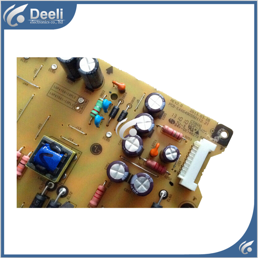 New good Working original used power supply board EAY62810801 EAX64905501 LGP4750-13PL2 original lcd 40z120a runtka720wjqz jsi 401403a almost new used disassemble