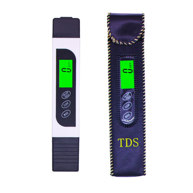 3 In1 Digital LCD TDS EC Meter Temperature Tester Conductivity Water Filter Purity Pen Liquid Quality Tools  with backlight 42% tds3 temp ppm lcd digital tds meter tester filter pen water quality purity teater temp pen