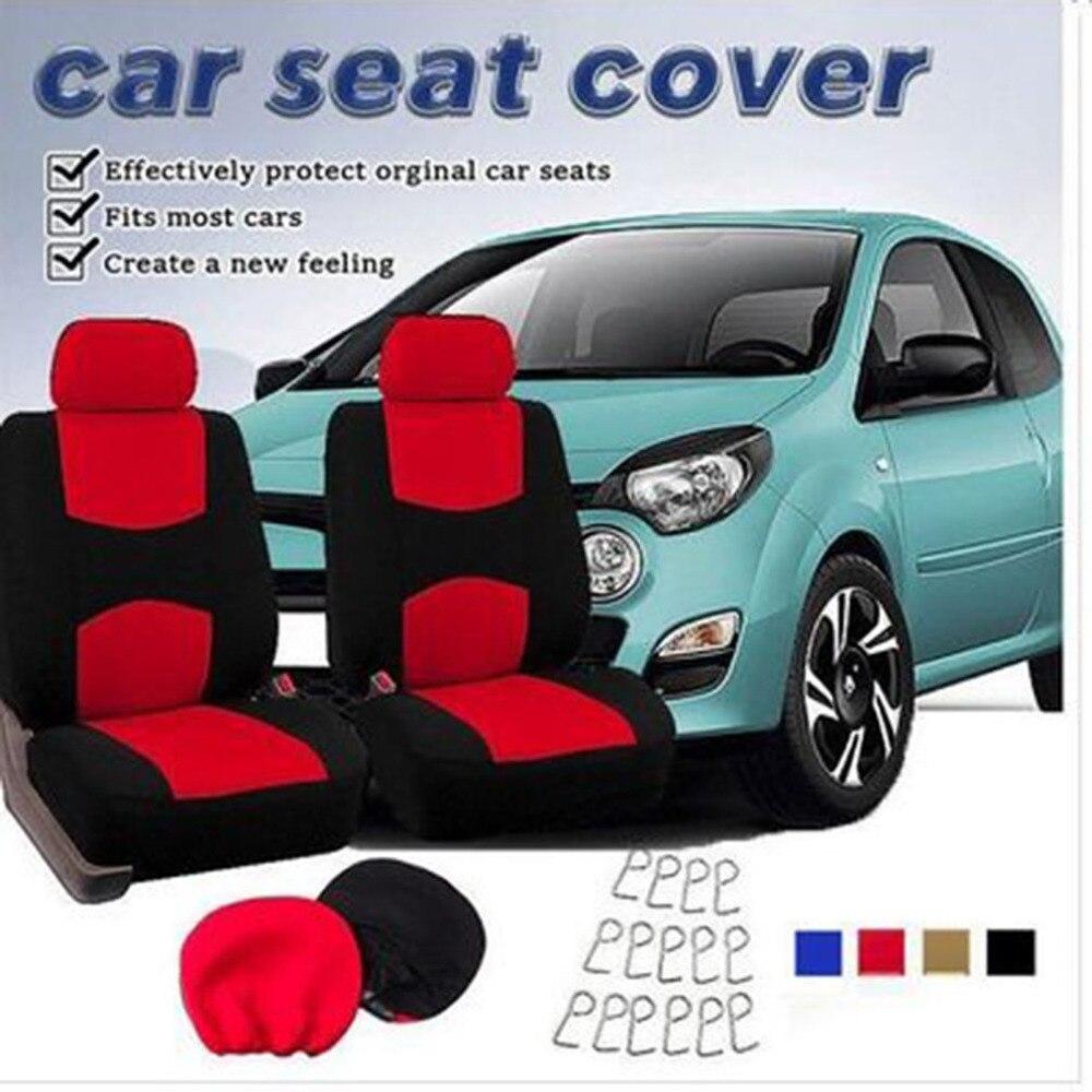 1 PCS Auto Universal Auto Sitzbezüge Automotive Sitzbezüge Auto Styling Für VW Für Toyota Universal Fit Innen Zubehör