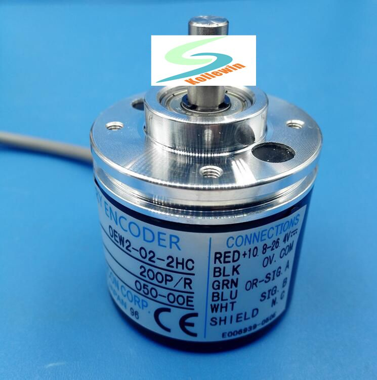 OEW2-02-2HC incremental rotary encoder, new in box, Free Shipping. free shipping roland sp540 encoder strip sensor