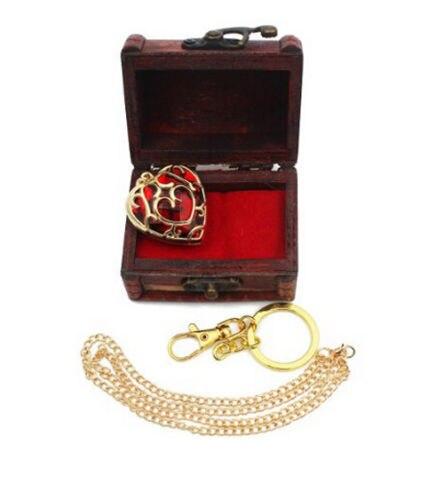 Подвеска и брелок в форме сердца Легенда о Зельде в подарочной коробке 4