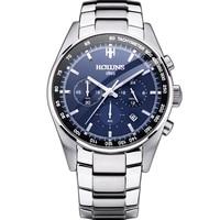 Hot Dropship 100% Full Steel Men Watch Military Wrist Watches Chronograph Fashion Men Sports Watch Waterproof Relogio Masculino