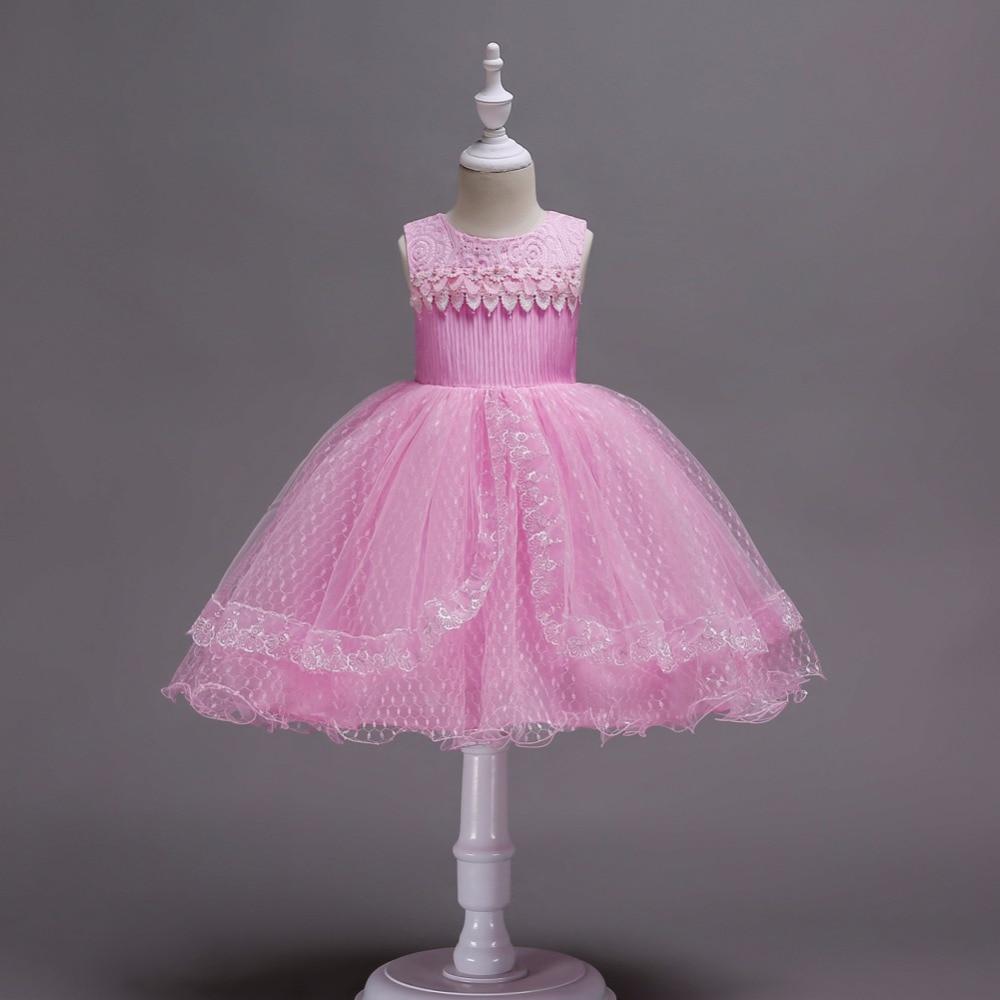 Niño niñas encaje princesa vestido elegante vestidos de fiesta para ...