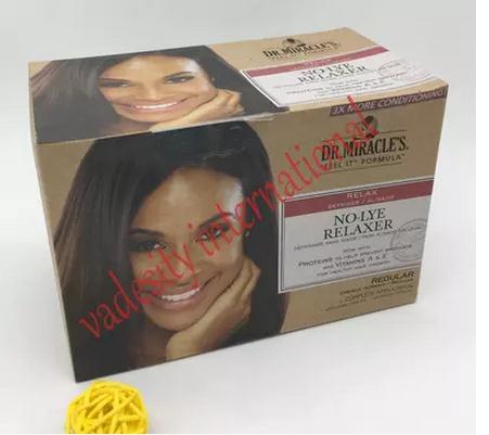 Vadesity Dr Miracle's New Growth No Lye Relaxer Kit Regular plia relaxer молекулярное выпрямление волос plia