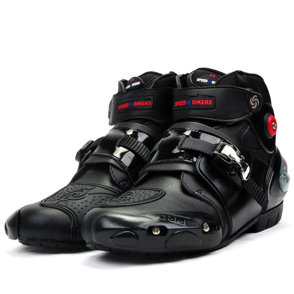 Prix pour Professionnel moto moto bottes motocross racing bottes étanches cycliste protéger cheville moto chaussures