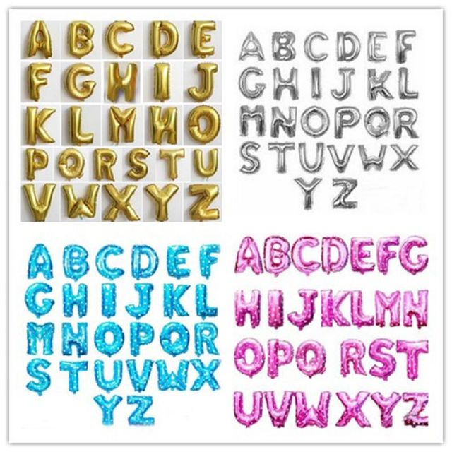 4 cores 26 letras decorativas decorao do casamento decoraes da festa de aniversrio dos midos fontes - Letras Decorativas