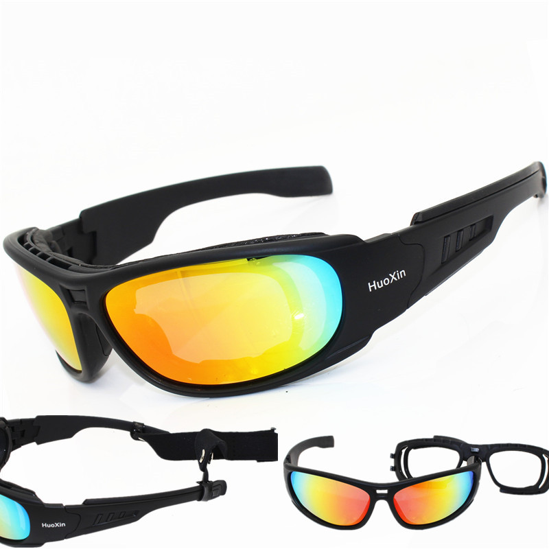 все цены на Polarized Tactical glasses C6 Military Goggles Army Sunglasses With 4 Lens Men Shooting Eyewear Gafas Motorcycle Eyewear онлайн