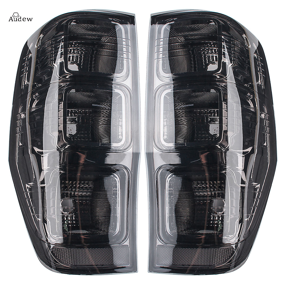 for Ford Ranger PX T6 MK1 MK2 WildTrak XLT XL XLS for High Quality Rear Left/Right Tail Smoked Rear Tail Lights Lamp Fog Light high quality chrome tail light cover for skoda octavia mk2 04 08 free shipping