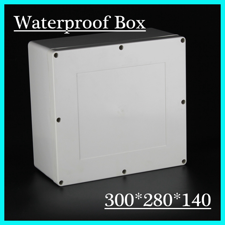 300*280*140mm hot selling waterproof enclosure plastic electrical junction boxes, electrical box plastic 4pcs a lot diy plastic enclosure for electronic handheld led junction box abs housing control box waterproof case 238 134 50mm