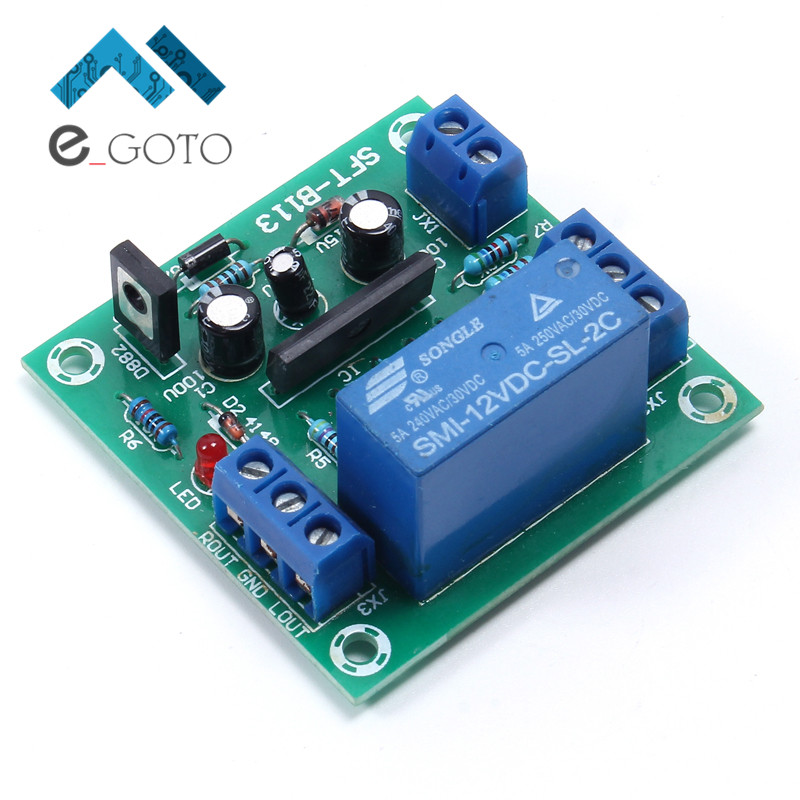 11-26V UPC1237 Speaker Protection Board Dual Channel Loudspeaker Power-On Delay DC Protect Module For Audio Amplifier Amp