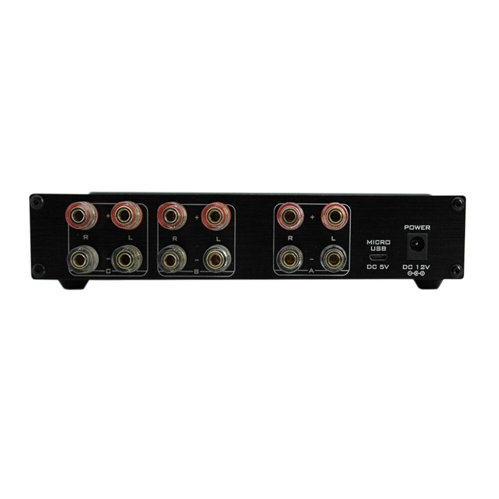 FX オーディオ PW 6 Amplificador ハイファイデジタルオーディオアンプスイッチャー Spiltter セレクタクロスオーバー 2 ウェイスピーカーアンプコンバータ  グループ上の 家電製品 からの アンプ の中 2