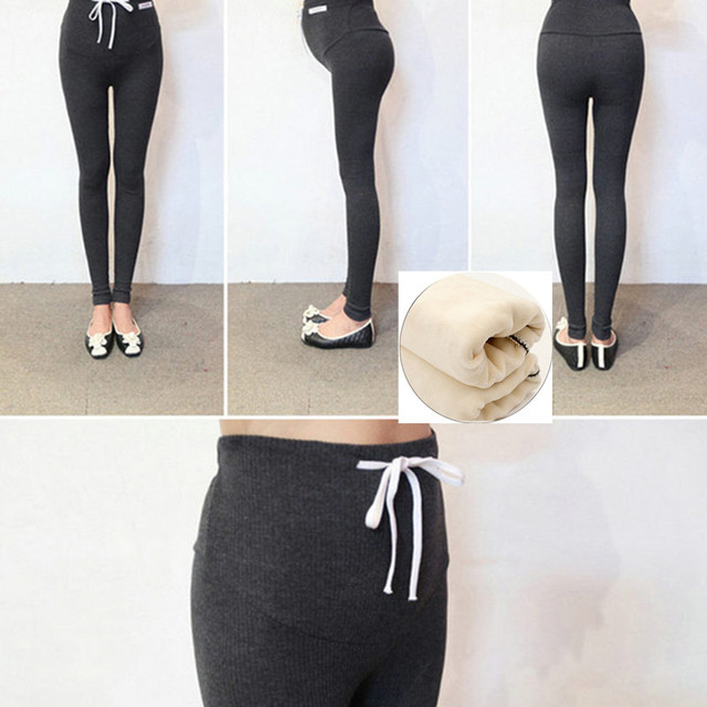 2016 Maternity pregnancy  care pants for pregnant women Elastic waist pregnant clothes Maternity Leggings Pregnant Pants
