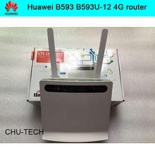 Original Huawei B593 B593U-12 100 Mbps 4G LTE FDD CPE + 4G antenne