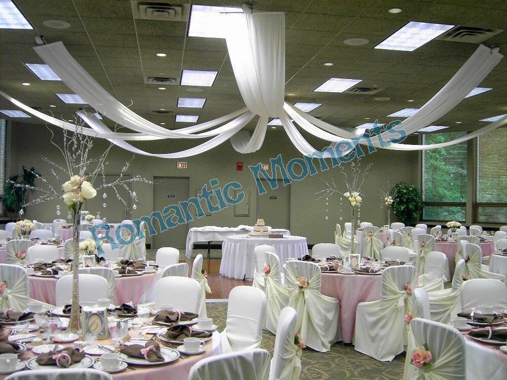 unidades de lujo cortina de techo canopy tela cortinas para la decoracin de la boda