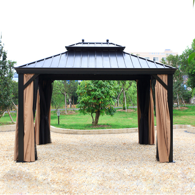 3*3.6 meter deluxe high quality metal canopy sunjoy outdoor garden gazebo tent patio pavilion  sc 1 st  AliExpress.com & 3*3.6 meter deluxe high quality metal canopy sunjoy outdoor garden ...