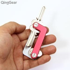 Image 5 - QingGear OKEY Advanced Key Organizer Travel Key Kits Light Weight Quickly and Easily Open door key Holder folder keys bar Tool