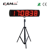 [Ganxin]5'' 6 digits LED countdown timer with tripod electronic digital stopwatch timer