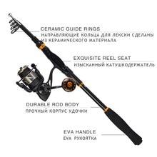 Portable Telescopic Fishing Rod 99% Carbon