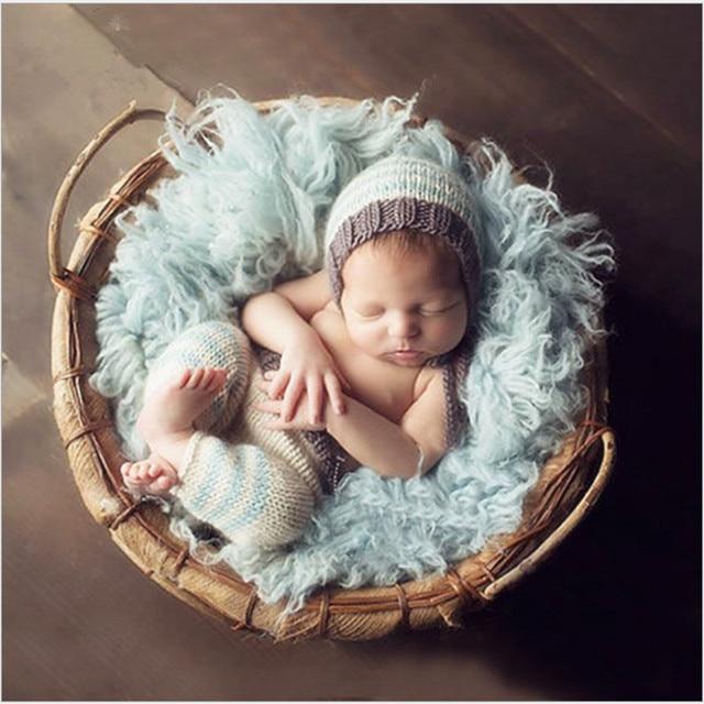 Baby Puppe Kleidung Gestrickte Kinder Kleider Mantel Für Mädchen
