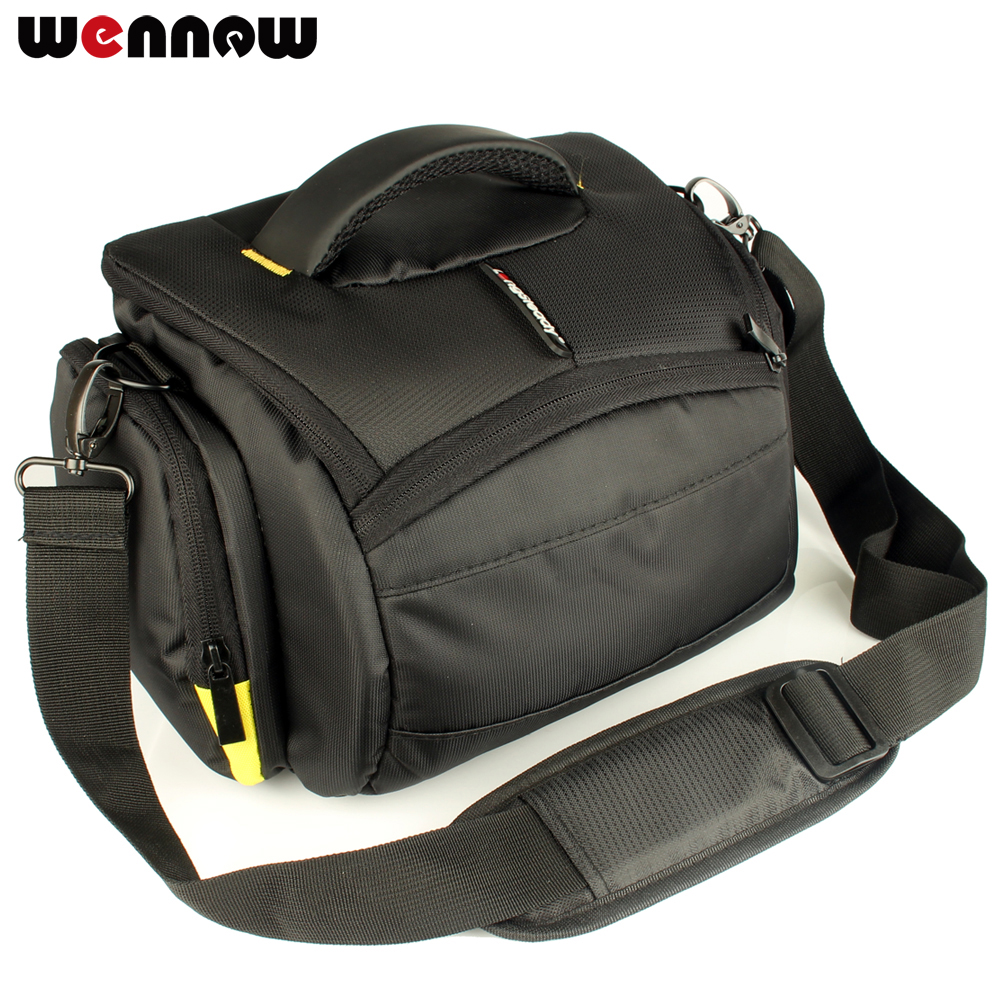 wennew Waterproof DSLR SLR Camera Case Photo Bag for Canon EOS Rebel SL2 SL1 T7i T7 T6i T6s T6 T5i T5 T4i T3i T3 T2i T1i XTi XSi image