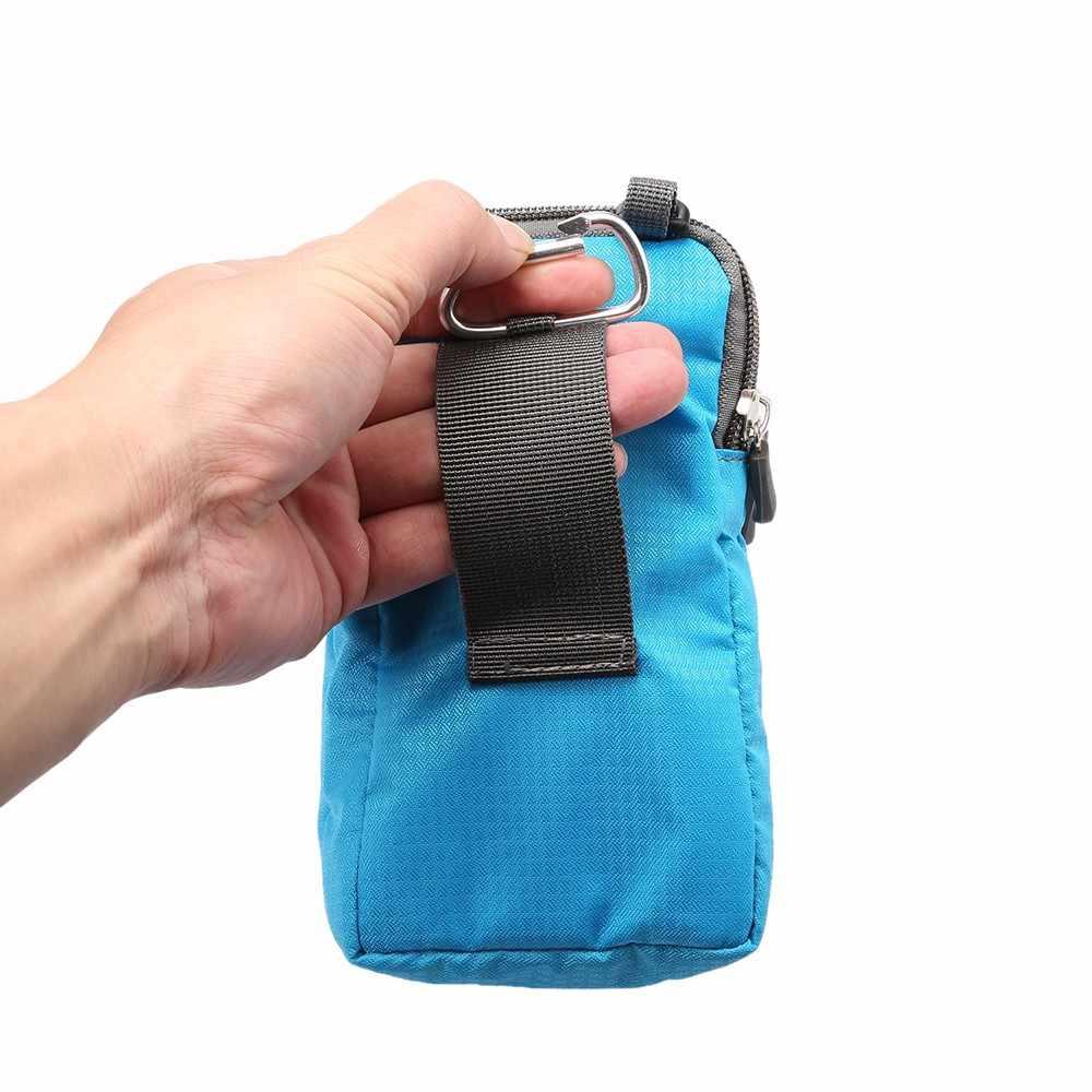 Многофункциональный чехол для телефона iPhone 11 Pro X XR XS Max 8 7 Xiaomi Mi 9T 9 8 SE A3 Redmi Note 7S Mix 3 CC9 CC9e поясная сумка