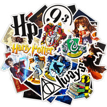 30Pcs Pack Harry Cartoon Stickers Set Toy Travel Sticker For Luggage Skateboard Laptop Stationery Anime