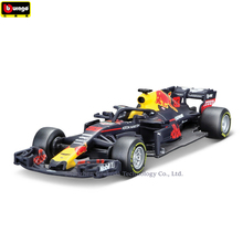 Bburago 1:43 Ferrari Red BullRB14 33 Simulation alloy super toy car model For  with Steering wheel control front steering