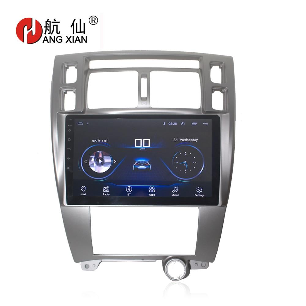 HANG XIAN 10 1 Quadcore Android 8 1 Car radio for Hyundai Tucson 2006 2014 car