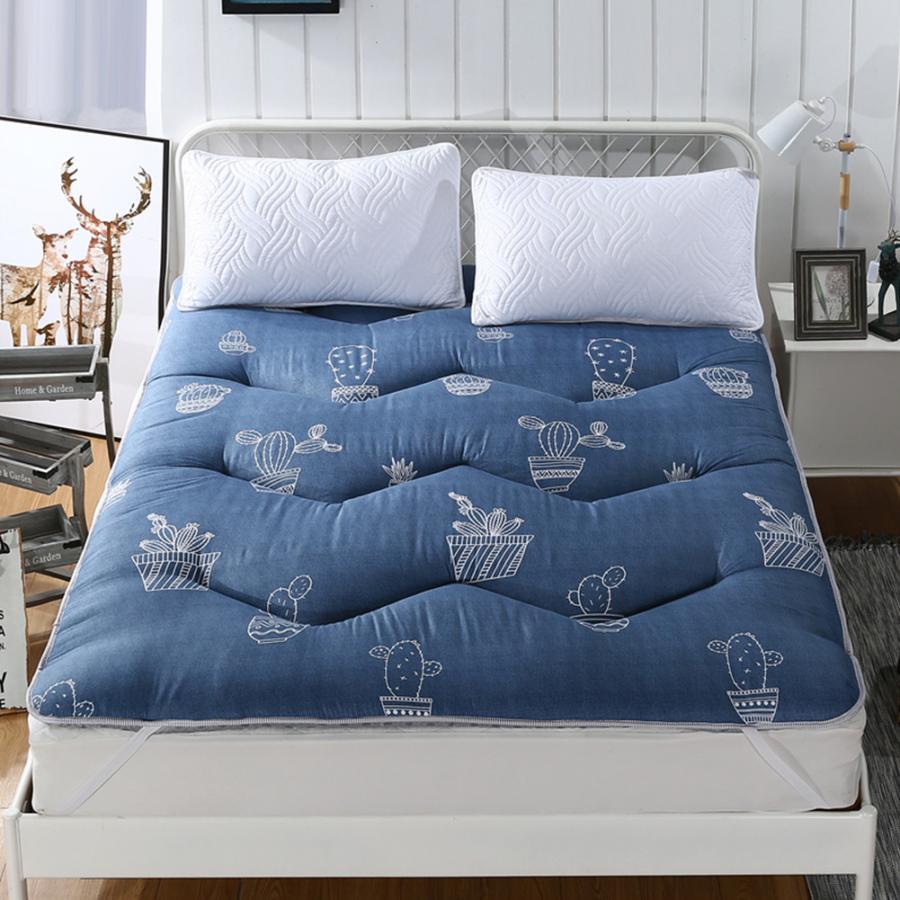 Lent Cactus reine matelas Tatami tapis grande taille épaisseur pour chambre dormir sur sol tapis pliant sans oreillers