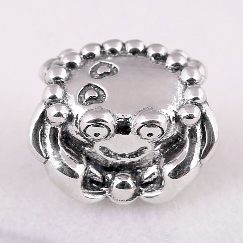 Beads New 925 Sterling Silver Bead Charm Blue Enamel Aladdin Magic Carpet Ride Charm Fit Pandora Bracelet Bangle Diy Jewelry Beads & Jewelry Making