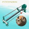 ZT-2 máquina de corte de lámina Manual electroquímica Corte de aluminio de la máquina de oro cortadora de papel bronceado de la máquina de corte de papel