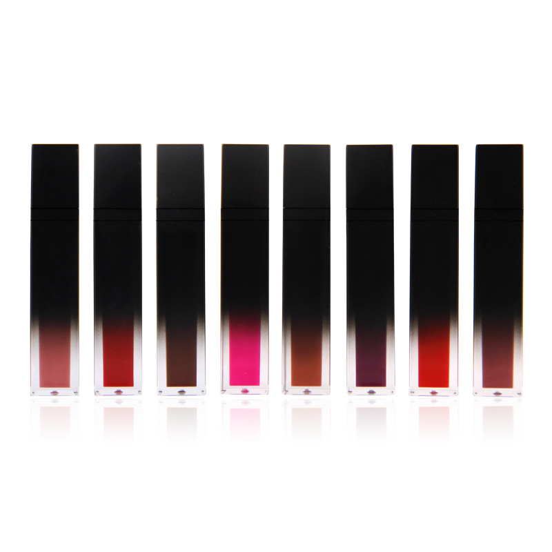 Sexy long lasting Waterproof Non stick Cup super sticky liquid lipstick color does not fade Lip Gloss Lipstick 3