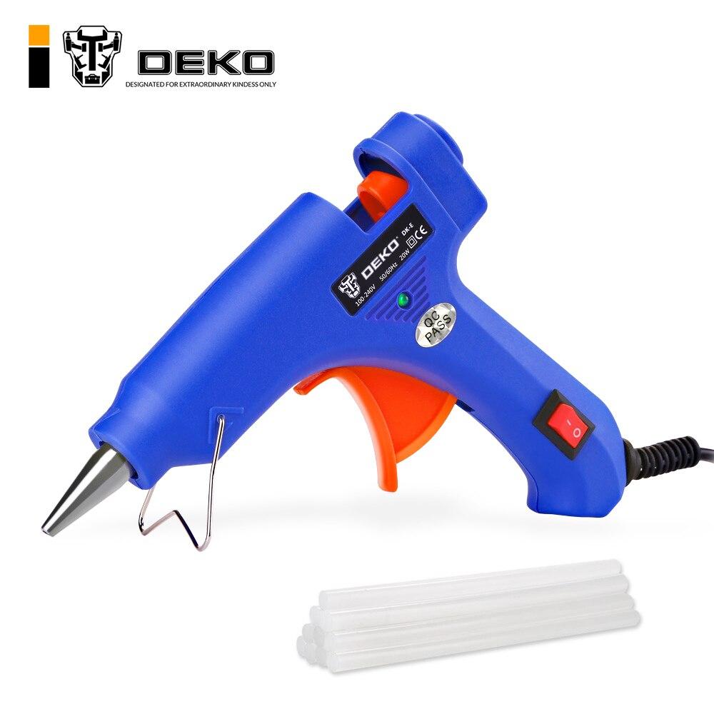 Electric Hot Melt Glue Gun 7mm Adhesive Sticks Craftman Hobby Repair Tool Mini