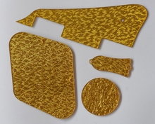 Kaish LP pickguard volver Tapas truss rod cubierta se ajusta Gibson Les Paul chispa del oro