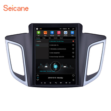 купить Seicane 9.7 inch Android 6.0 Car GPS Radio Navigation Multimedia Player for 2014 2015 Hyundai IX25 support OBD2 Rearview Camera по цене 18734.22 рублей