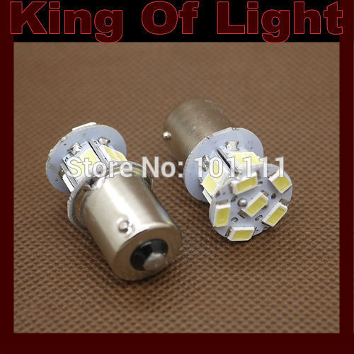 10x Car led styling 1156 18SMD s25 p21w BA15S 18 led SMD 5630 5730 Turn Signal Light Tail Lamp Free shipping