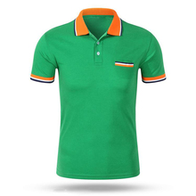 Shirts Training High-Quality Short-Sleeve Golf Women Sport Male Cotton Patchwork Thick