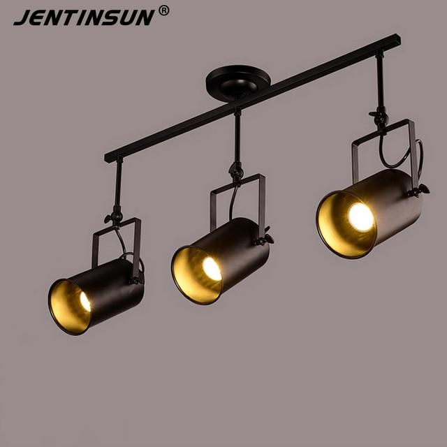 Industrial Led Light Bar: 4 Styles Retro Iron LED Spot Light Lamp Creative