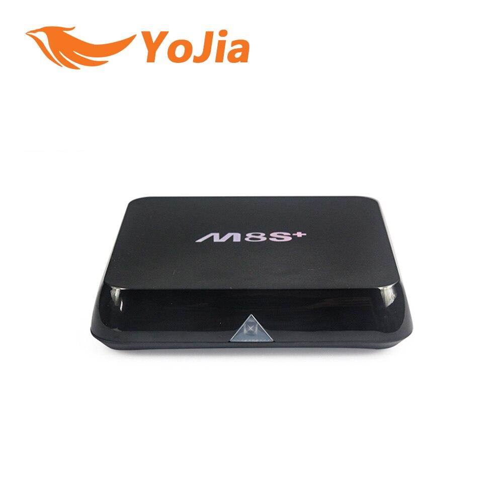 Original Amlogic S812 M8S Plus TV Box Quad Core Android 5 1 2 4G 5G Wifi