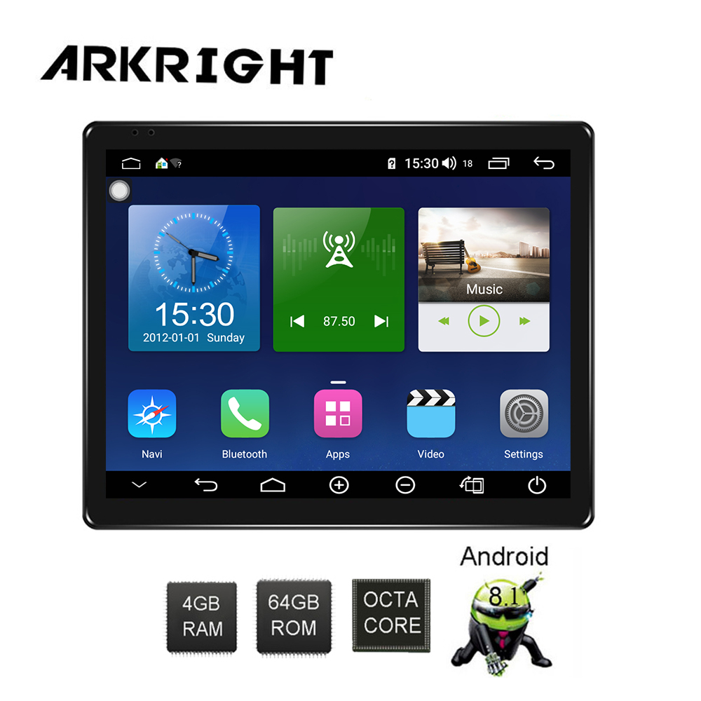 ARKRIGHT 9 7 1Din 4 64gb Android 8 1 Car Radio GPS Universal multimedia Player built