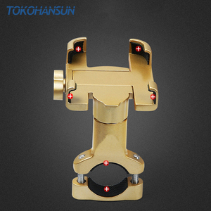 Image 5 - Motorcycle Telephone Holder Support Moto Bicycle Rear View Mirror Stand Mount Aluminum Scooter Motorbike Phone for Samsung s9 s8